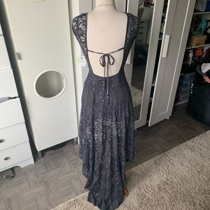 Windsor// gorgeous high low gown size 5